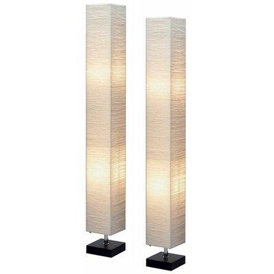 Aspire Isa Square Floor Lamp(set of 2)