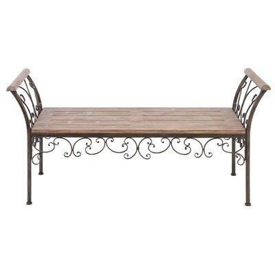metal benches indoor