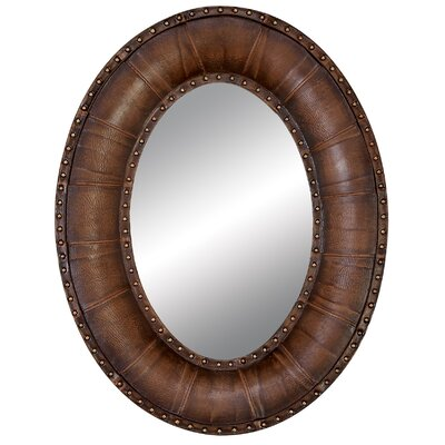 Contemporary Oval Wall Mirror