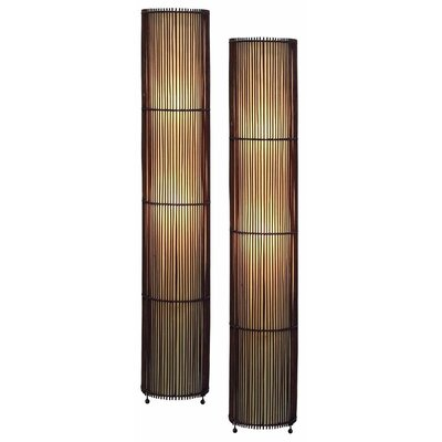 Aspire Theo Bamboo Floor Lamp