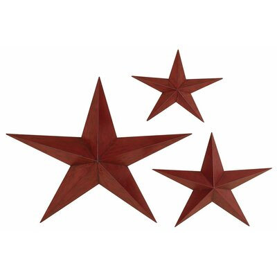 Aspire Star Wall Plaques Set (Set of 3)