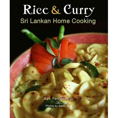 Hippocrene Books Rice & Curry Sri Lankan Home Cooking