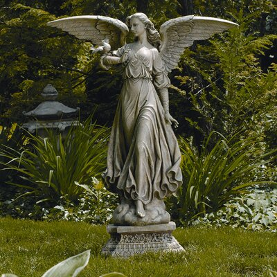 Roman, Inc. Classic Angel Garden Statue & Reviews | Wayfair