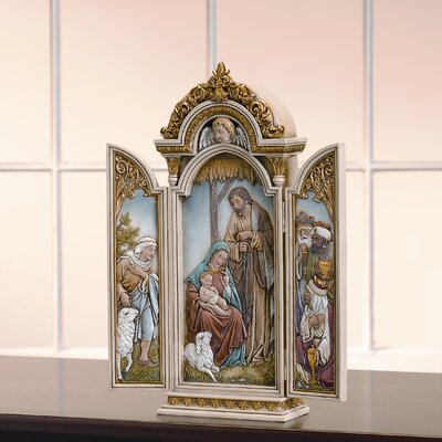 "Roman, Inc. 12.75"" Nativity Triptych"