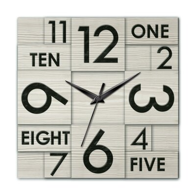 Modern Home Multi Layer Wall Clock