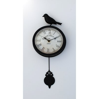 Bird Pendulum Wall Clock