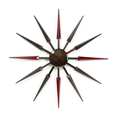 Mid Century Retro Wall Clock