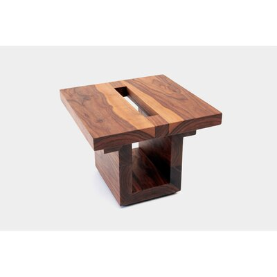 ARTLESS SQ18 Walnut End Table