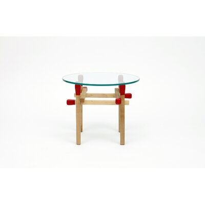 Round Matchstick Table