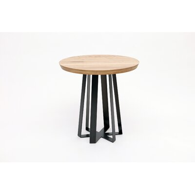 ARTLESS Blackened Steel Tall Table