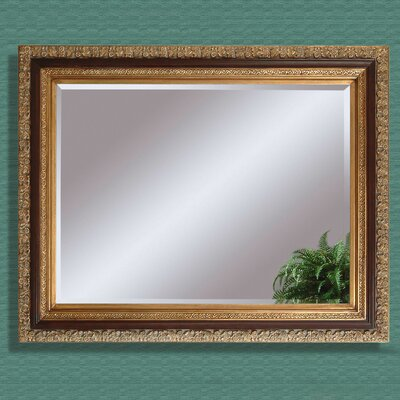 Bassett Mirror Eleganza Wall Mirror - Antique Gold Leaf