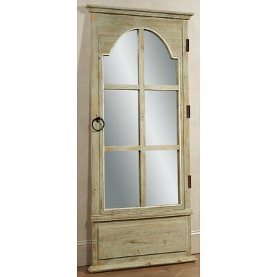 French Door Leaner Mirror - Tarragon