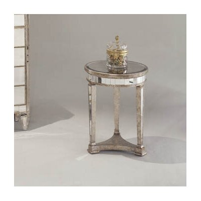 Bassett Mirror Borghese Mirrored Round End