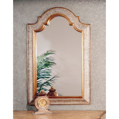 Bassett Mirror Excelsior Wall Mirror - Silver &amp; Gold Leaf