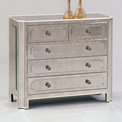 Regency 5 Drawer Hall Chest