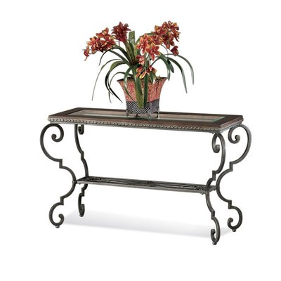 Giordino Console Table w/wood Top
