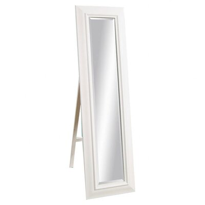 Bassett Mirror Putnam Cheval - Gloss White
