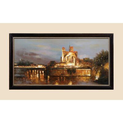 Golden Palace Original Painting on Canvas