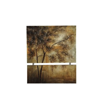 Golden Trees Original Painting on Canvas