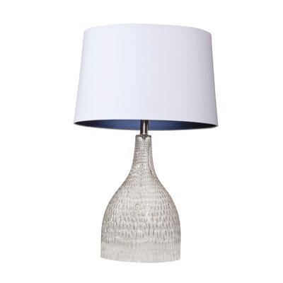 "Bassett Mirror Jasmine 29"" H Table Lamp with Empire Shade"