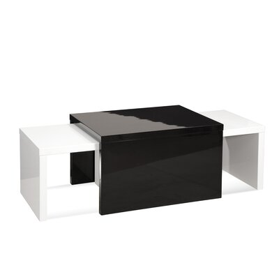 Bassett Mirror Zoe 3 Piece Lacquer Coffee Table