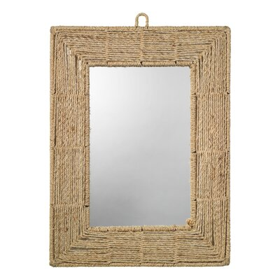 Jamie Young Company Rectangular Jute Mirror
