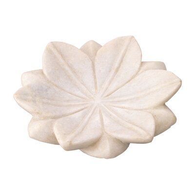 Jamie Young Company Lotus Marble Plate (Set of 3)