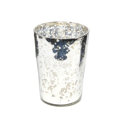 <strong>Amber Home Products</strong> Champagne Tumbler Candle Holder