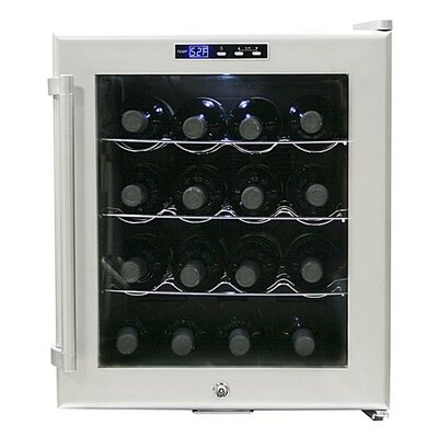 SNO 16 Bottle Single ZoneThermoelectric Wine Refrigerator