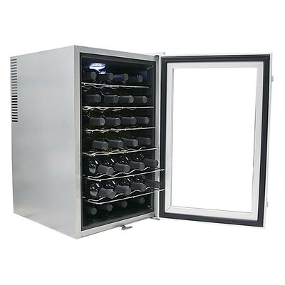 Whynter SNO 28 Bottles Wine Cooler with Lock