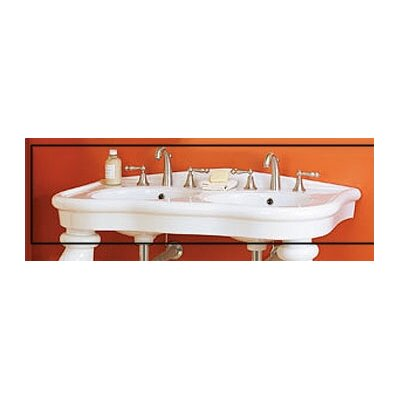 Parisian Double Bowl Console Bathroom Sink Wayfair