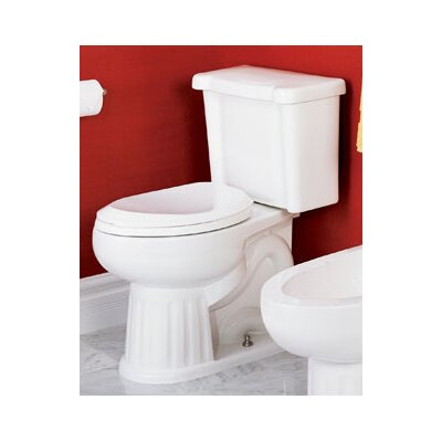 St Thomas Creations Mayfair Chair-Height 1.28 GPF Elongated 2 Piece Toilet