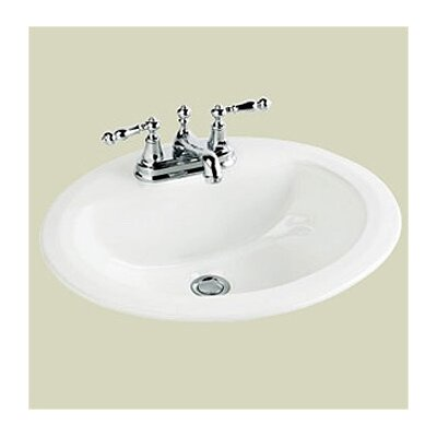St Thomas Creations Marathon Center Oval Bathroom Sink