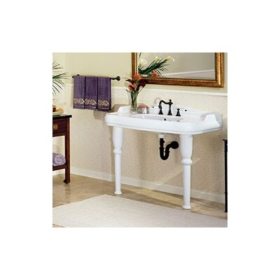 Old Antea Grande Console Bathroom Sink with China Straight Legs - 5052.080.01