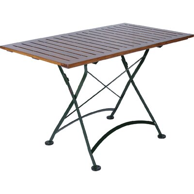 "Furniture Designhouse European Café 32"" x 48"" Folding Table"