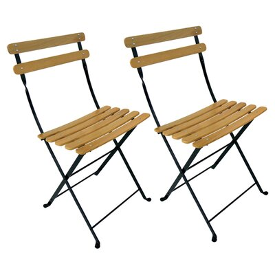 <strong>Furniture Designhouse</strong> Park Folding Side Chair (Set of 2)