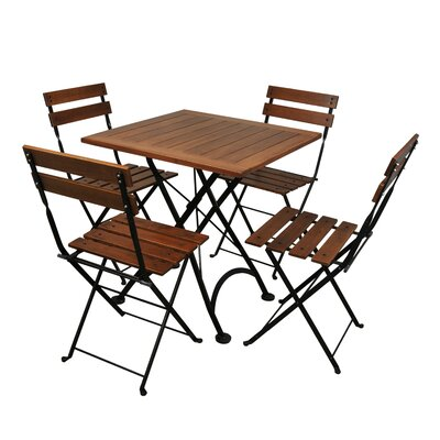 Furniture Designhouse European Café Folding Table