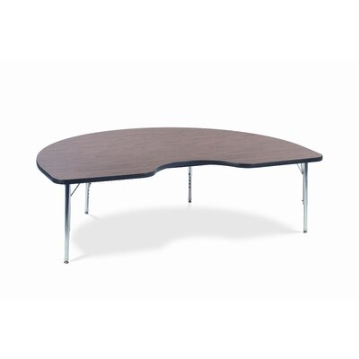 """Virco 4000 Series Activity Table with 72"""" Kidney Shaped Top"""