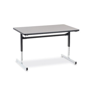 "Virco 8700 Series Computer Table with 30"" x 48"" Top"