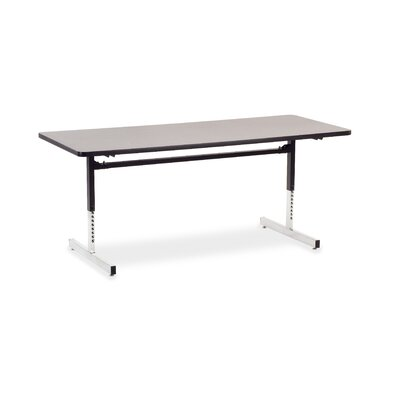 Virco 8700 Series Computer Table with 30&quot; x 72&quot; Top