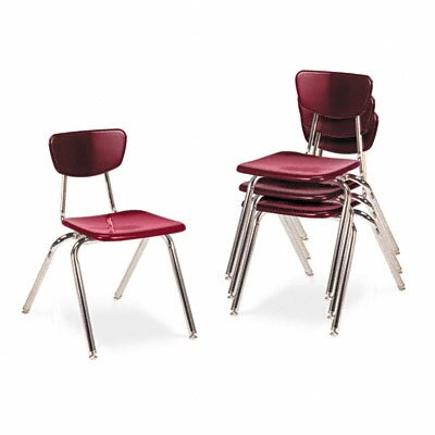 "Virco 3000 Series 16"" Plastic Classroom Stackable Chair"