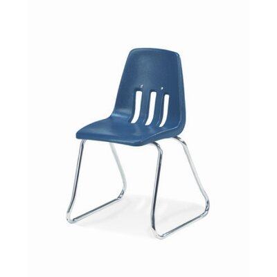 "Virco 9000 Series 12"" Plastic Classroom Sled-Based Chair"