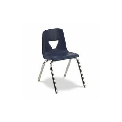 "Virco 2000 Series 16.25"" Polypropylene Classroom Stacking Chair"