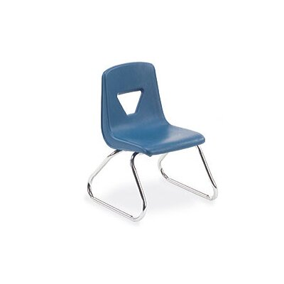 "Virco 2000 Series 12"" Polypropylene Classroom Sled Stacking Chair"