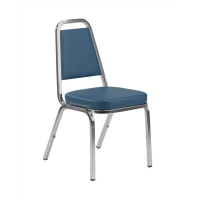 Virco Armless Office Stacking Chair