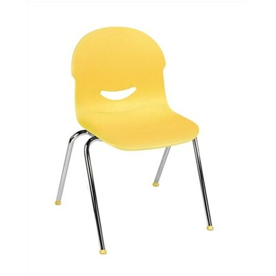 "Virco I.Q. Series 17.5"" Plastic Classroom Stacking Chair"