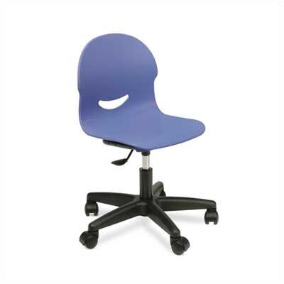 "Virco I.Q. Series 17"" Plastic Classroom Mobile Task Chair"