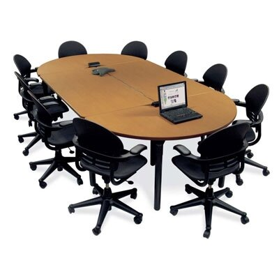 "Virco Half Round Plateau Table - 29"" High"