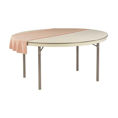 Virco 6100 Series 60&quot; Round Folding Table