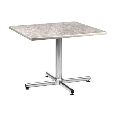 "Virco Lunada 33"" X-Shaped Steel/Aluminum Base"
